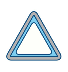 Traffic signal blank vector