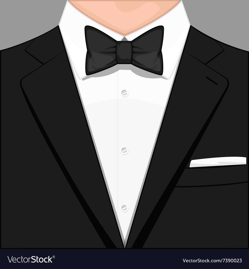 Man in suit vector