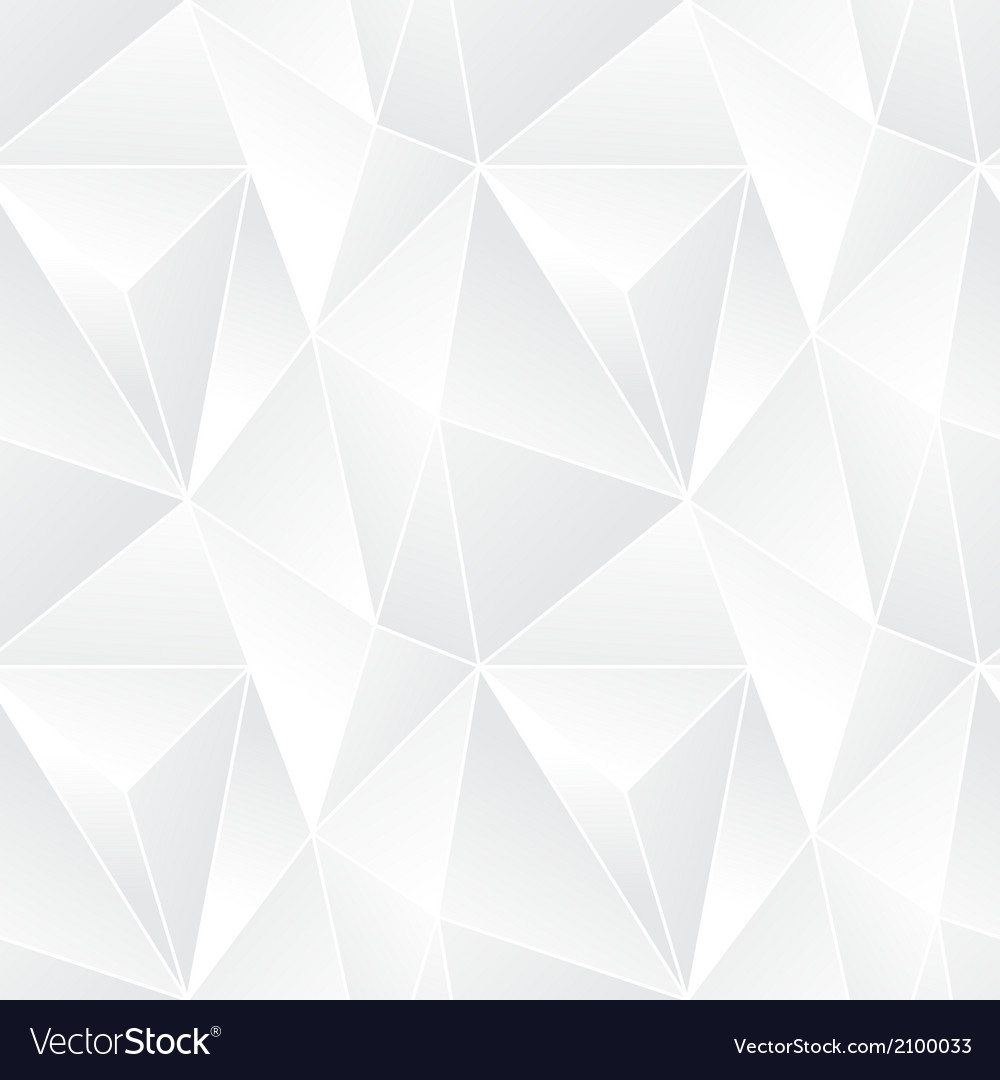 Triangle seamless abstract pattern vector
