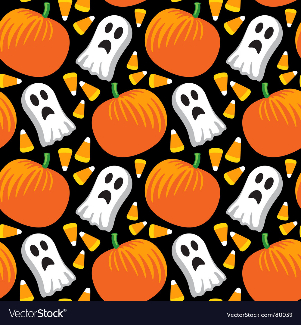 Halloween pattern vector
