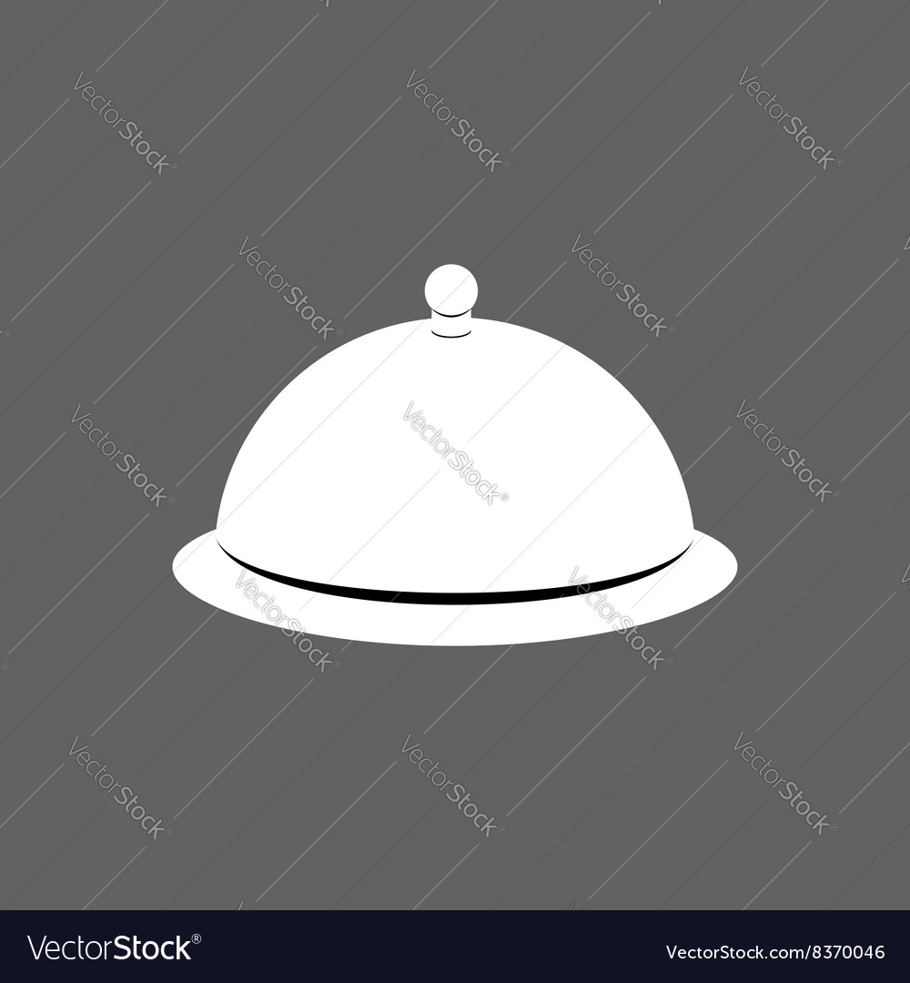 Cloche cover for hot dishes accessory cooks and vector