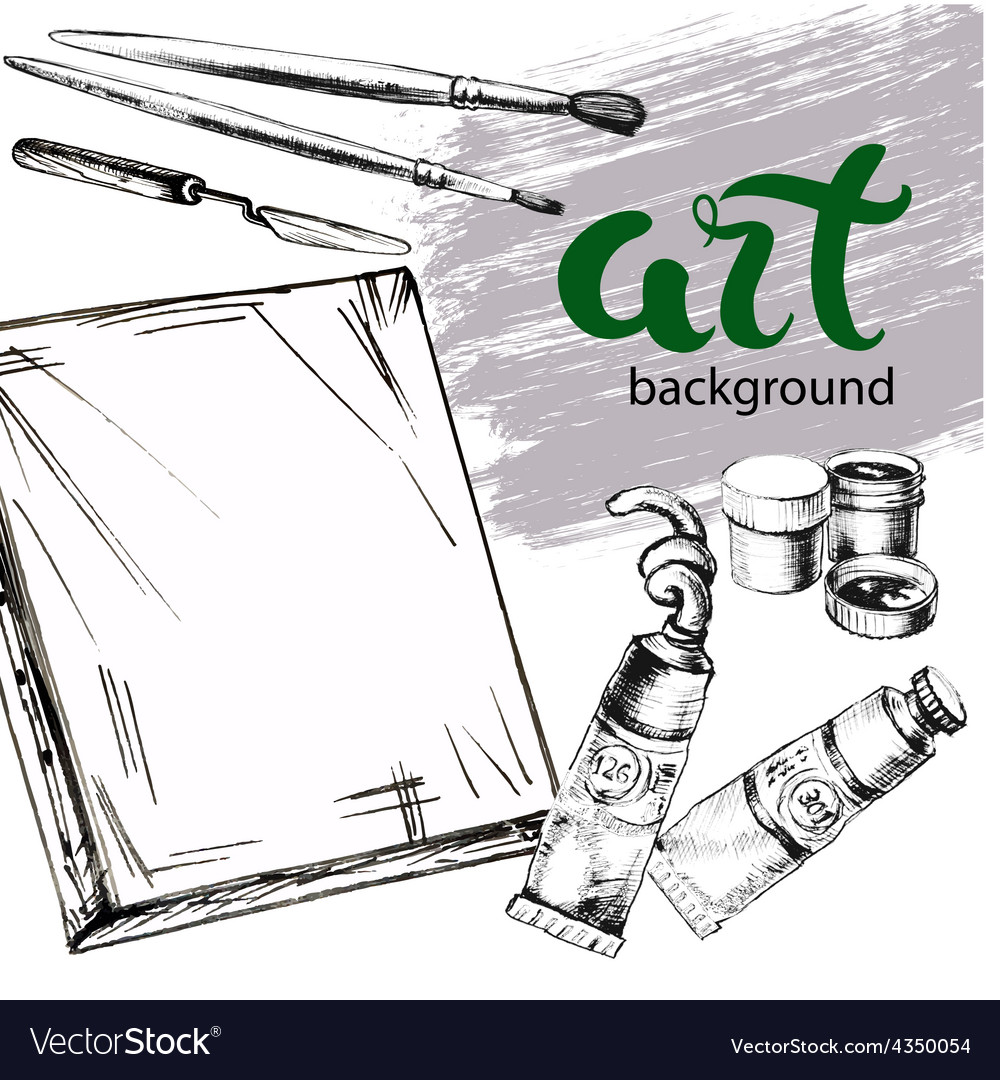 Paint background vector