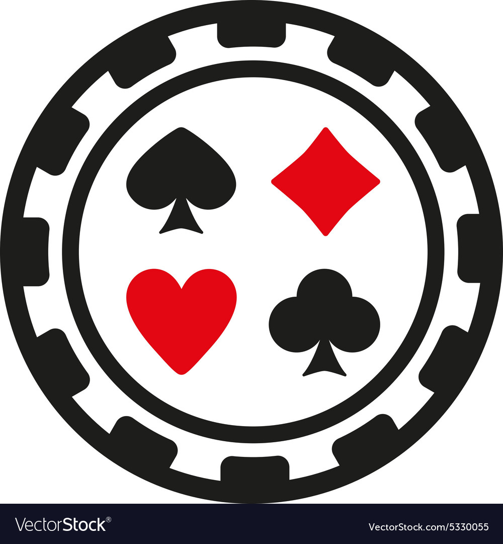 Casino chip icon casino chip symbol flat vector