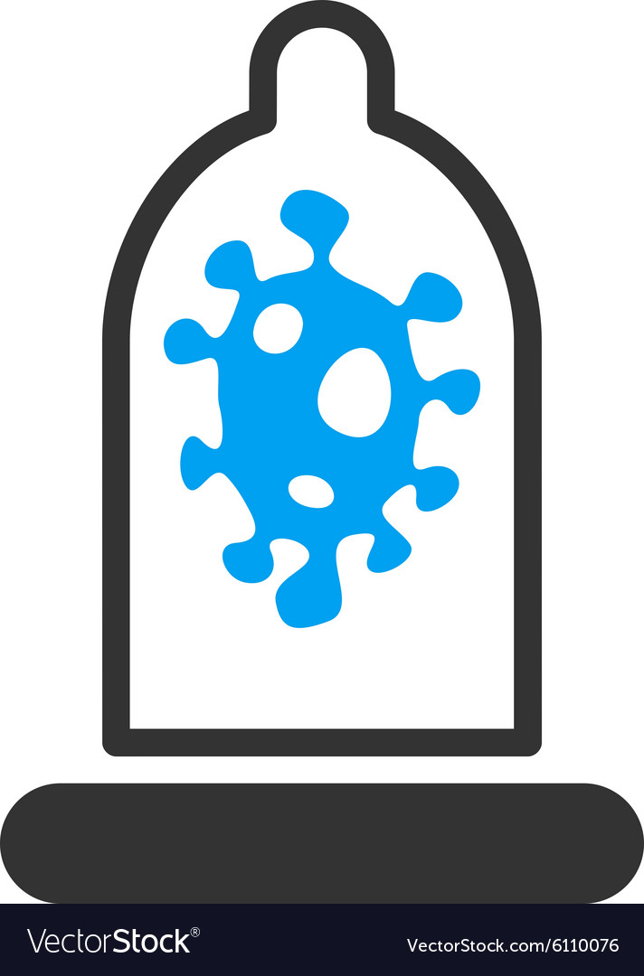 Infection protection icon vector