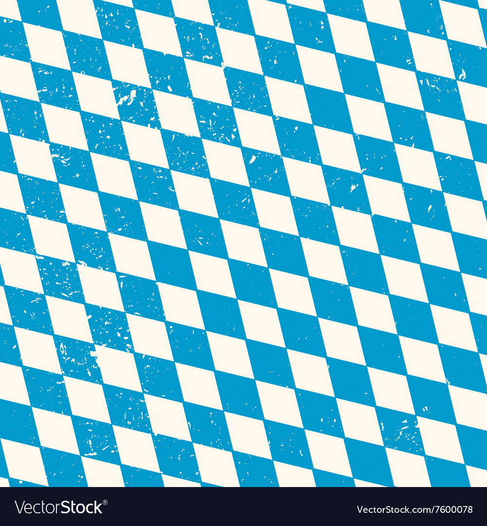 Oktoberfest seamless pattern with rhombus vector
