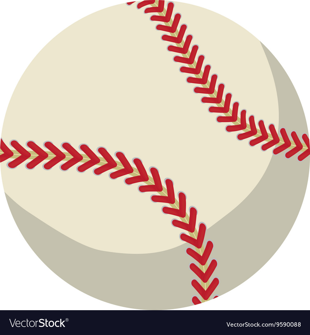 Ball icon baseball design graphic vector