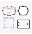 Frame design Ornament icon Flat vector image