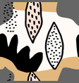 abstract collage pattern vector image