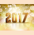 2017 new years eve concept vector image