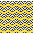 Zigzag seamless pattern Hand-drawn background vector image