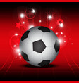 soccer festival background vector image vector image
