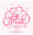 be mine vector image