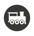 train transport public isolated icon vector image