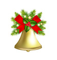 Xmas Bells vector image vector image