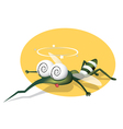 mosquito character vector image