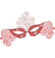 Mask pattern vector image