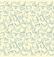 female underwear doodle pattern vector image vector image