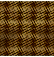 Background with Cross Pattern and Gold Texture vector image vector image