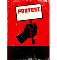 Protest vector image