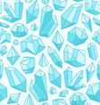 Crystals pattern vector image
