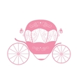 Pink Princess Cinderella Fairytale carriage vector image