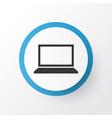notebook icon symbol premium quality isolated vector image