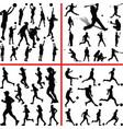Sportmix women basketball baseball soccer vector image