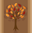 Autumn tree for your design vector image