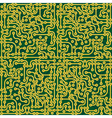 Circuit board seamless vector image vector image