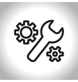 icon manufactoring vector image