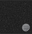 Seamless background leather texture vector image vector image