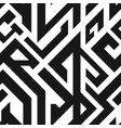 monochrome ancient seamless pattern vector image vector image