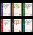 wine labels22 vector image