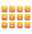 financial symbols vector image