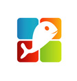 Logo for fisheries business vector image