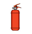 fire extinguisher powdercar single icon in vector image