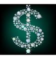 Sign Dollar vector image