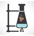 a symbolic representation of the molecule vector image vector image
