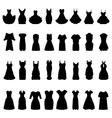 cocktail dresses vector image