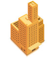 isometric business big building vector image