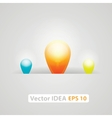 Idea business marketing strategy concept vector image