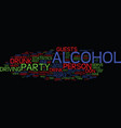 You can host a party and get sued text background vector image