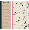 Abstract pastel card in pink brown and blue vector image
