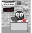 Complaints Department vector image