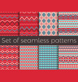 seamless pattern in ethnic style tribal seamless vector image