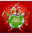 christmas around the world vector image vector image