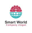 Smart World Design vector image
