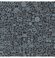 apps Icon seamless background vector image