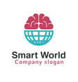 Smart World Design vector image