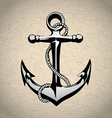 Anchor icon solated nautical heavy iron symbol vector image